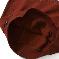 画像4: Rose Logo US Cotton Hooded Sweatshirt ローズ ロゴ プルオーバー スウェット パーカー Burgundy バーガンディー by Lafayette ラファイエット  (4)