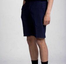 画像3: Johnson Shorts Pinstripe Navy ピンストライプ ハーフパンツ ショーツ (3)