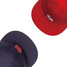 画像9: LSD 6-Panel Leather Back Cap パネル ロゴ キャップ レザー バック 帽子 (9)