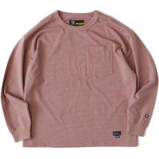 画像3: × DISCUS Teescus L/S Pocket Tee ロング スリーブ ポケット 長袖 Tシャツ US COTTON 8.0oz ヘビー オンス (3)