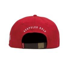 画像5: LSD 6-Panel Leather Back Cap パネル ロゴ キャップ レザー バック 帽子 (5)