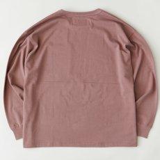 画像2: × DISCUS Teescus L/S Pocket Tee ロング スリーブ ポケット 長袖 Tシャツ US COTTON 8.0oz ヘビー オンス (2)