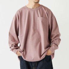 画像7: × DISCUS Teescus L/S Pocket Tee ロング スリーブ ポケット 長袖 Tシャツ US COTTON 8.0oz ヘビー オンス (7)
