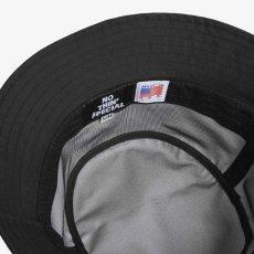 画像4: Fly Fish Nylon Bucket Hat embroidery ウォータープルーフ ナイロン ロゴ 刺繍 バケット ハット (4)