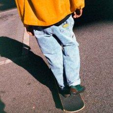 画像8: Homeboy Denim Jeans ホームボーイ デニム パンツ ジーンズ Pants パンツ Washed Light Blue ウォッシュ ライトブルー (8)