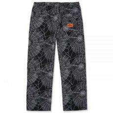 画像2: Web Pants 総柄 パンツ Spider Black ブラック (2)