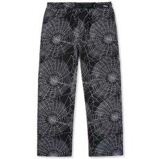 画像1: Web Pants 総柄 パンツ Spider Black ブラック (1)