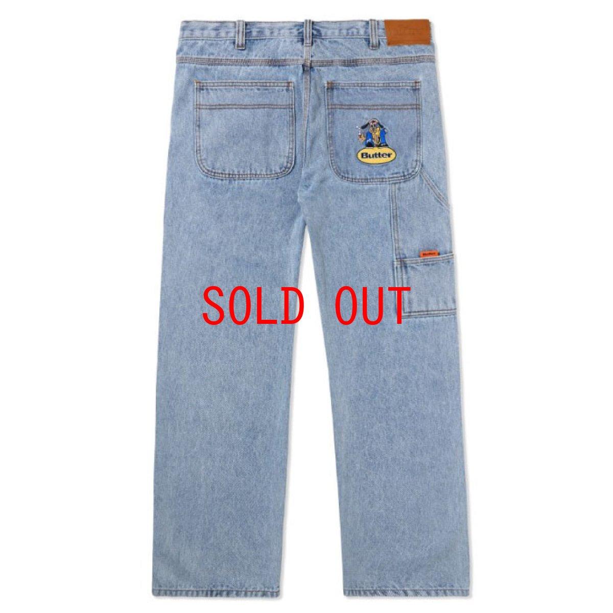 画像1: Homeboy Denim Jeans ホームボーイ デニム パンツ ジーンズ Pants パンツ Washed Light Blue ウォッシュ ライトブルー (1)