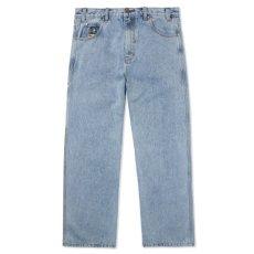 画像2: Homeboy Denim Jeans ホームボーイ デニム パンツ ジーンズ Pants パンツ Washed Light Blue ウォッシュ ライトブルー (2)