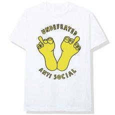 画像2: × Undefeated Logo S/S Tee アンディフィーテッド 半袖 Tシャツ White assc (2)