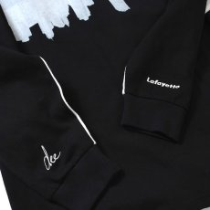 画像6: × dee Photo 2Tone L/S Tee ディー 長袖 フォト Tシャツ White Black ホワイト ブラック by Lafayette ラファイエット  (6)