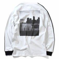 画像4: × dee Photo 2Tone L/S Tee ディー 長袖 フォト Tシャツ White Black ホワイト ブラック by Lafayette ラファイエット  (4)