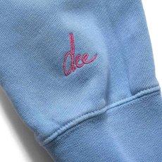 画像4: × dee Pro Crewneck Sweatshirt ディー クルー ネック スウェット Blue ブルー by Lafayette ラファイエット  (4)