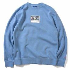画像2: × dee Pro Crewneck Sweatshirt ディー クルー ネック スウェット Blue ブルー by Lafayette ラファイエット  (2)