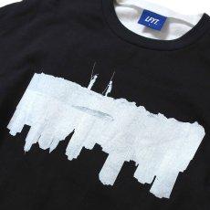 画像7: × dee Photo 2Tone L/S Tee ディー 長袖 フォト Tシャツ White Black ホワイト ブラック by Lafayette ラファイエット  (7)