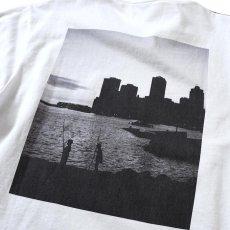 画像5: × dee Photo 2Tone L/S Tee ディー 長袖 フォト Tシャツ White Black ホワイト ブラック by Lafayette ラファイエット  (5)