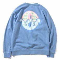 画像3: × dee Pro Crewneck Sweatshirt ディー クルー ネック スウェット Blue ブルー by Lafayette ラファイエット  (3)