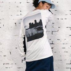 画像9: × dee Photo 2Tone L/S Tee ディー 長袖 フォト Tシャツ White Black ホワイト ブラック by Lafayette ラファイエット  (9)