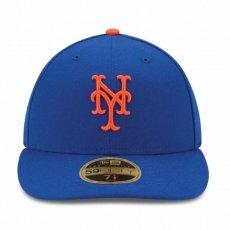 画像2: LP 59Fifty New York Mets cap MLB ニューヨーク・メッツ ゲーム オンフィールド Classic クラシック MLB 公式 Official (2)
