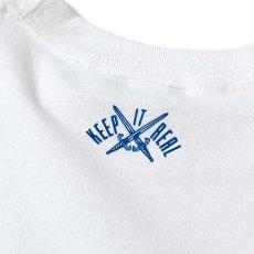 画像4: French Revolution Allover Lafayette Logo S/S Tee 半袖 Tシャツ White ホワイト by Lafayette ラファイエット  (4)