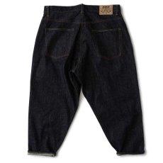 画像2: 247 Selvedge denim Pants 14oz セルビッチ デニム パンツ (2)