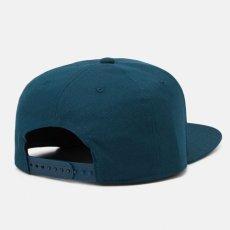 画像8: Logo Snapback Cap Deep Lagoon Hamilton Brown Black ロゴ スナップバック キャップ 帽子 (8)