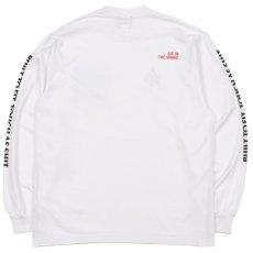 画像3: Lumber Jack Pocket L/S Tee 長袖 ブルックリン ロングスリーブ ランバージャック ポケット フランネル チェック Tシャツ White ホワイト (3)