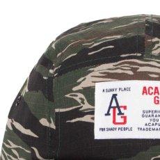 画像10: AG Camp Cap キャンプ ロゴ キャップ ジェット 帽子 Tiger Camo タイガー カモ 迷彩 Navy ネイビー Black ブラック (10)