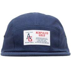 画像5: AG Camp Cap キャンプ ロゴ キャップ ジェット 帽子 Tiger Camo タイガー カモ 迷彩 Navy ネイビー Black ブラック (5)