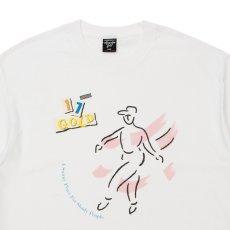 画像2: Dance S/S Tee 半袖 ダンス ディスコ 12inch レコード リイシュー レーベル Tシャツ White ホワイト (2)