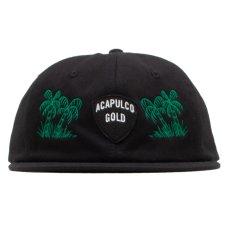 画像6: Island Army 6 Panel Cap アイランド アーミー パネル ロゴ キャップ 帽子 Olive Green オリーブ グリーン Black ブラック (6)