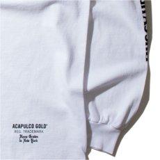 画像2: Lumber Jack Pocket L/S Tee 長袖 ブルックリン ロングスリーブ ランバージャック ポケット フランネル チェック Tシャツ White ホワイト (2)