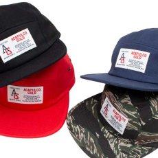 画像13: AG Camp Cap キャンプ ロゴ キャップ ジェット 帽子 Tiger Camo タイガー カモ 迷彩 Navy ネイビー Black ブラック (13)