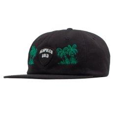 画像2: Island Army 6 Panel Cap アイランド アーミー パネル ロゴ キャップ 帽子 Olive Green オリーブ グリーン Black ブラック (2)