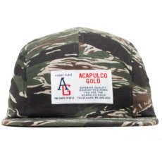 画像4: AG Camp Cap キャンプ ロゴ キャップ ジェット 帽子 Tiger Camo タイガー カモ 迷彩 Navy ネイビー Black ブラック (4)