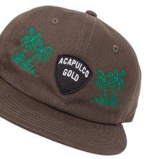 画像7: Island Army 6 Panel Cap アイランド アーミー パネル ロゴ キャップ 帽子 Olive Green オリーブ グリーン Black ブラック (7)