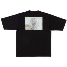 画像2: × TAVU × Sb_Kobe S/S Tee T-Shirt トリプル コラボ ヘビーオンス パリ アーティスト 13oz 半袖 Tシャツ Black ブラック  (2)