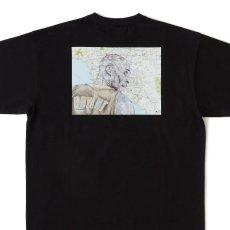 画像4: × TAVU × Sb_Kobe S/S Tee T-Shirt トリプル コラボ ヘビーオンス パリ アーティスト 13oz 半袖 Tシャツ Black ブラック  (4)