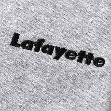画像4: Small Logo L/S Tee スモール ロゴ 長袖 Tシャツ Heather Gray ヘザー グレー by Lafayette ラファイエット  (4)
