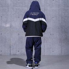 画像11: Sports Anorak Track Jacket スポーツ アノラック トラック プルオーバー ナイロン ジャケット Navy ネイビー by Lafayette ラファイエット  (11)