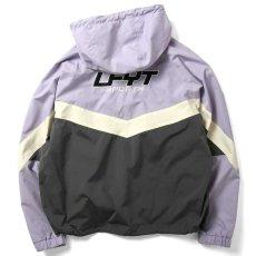 画像2: Sports Anorak Track Jacket スポーツ アノラック トラック プルオーバー ナイロン ジャケット Purple パープル by Lafayette ラファイエット  (2)