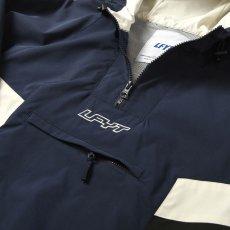 画像4: Sports Anorak Track Jacket スポーツ アノラック トラック プルオーバー ナイロン ジャケット Navy ネイビー by Lafayette ラファイエット  (4)