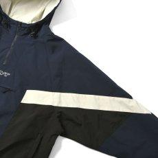 画像5: Sports Anorak Track Jacket スポーツ アノラック トラック プルオーバー ナイロン ジャケット Navy ネイビー by Lafayette ラファイエット  (5)