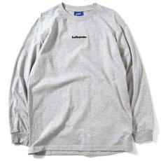 画像2: Small Logo L/S Tee スモール ロゴ 長袖 Tシャツ Heather Gray ヘザー グレー by Lafayette ラファイエット  (2)
