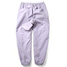 画像2: Sports Track Pants スポーツ トラック パンツ ナイロン セット アップ Purple パープル by Lafayette ラファイエット  (2)