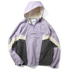 画像1: Sports Anorak Track Jacket スポーツ アノラック トラック プルオーバー ナイロン ジャケット Purple パープル by Lafayette ラファイエット  (1)
