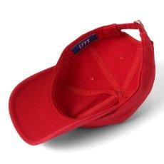 画像4: Logo Dad Hat ロゴ ダッド ハット Ball Cap ボール キャップ 帽子 Red Navy White レッド ネイビー ホワイト by Lafayette ラファイエット  (4)