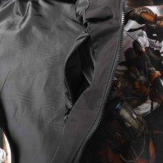 画像6: French Revolution Polyester Jacket ポリエステル トラック ジャケット 総柄 ロゴ 刺繍 by Lafayette ラファイエット  (6)