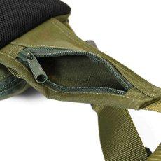 画像7: Military Waist Bag ウエスト バッグ Black Military Green ブラック ミリタリー グリーン by Lafayette ラファイエット  (7)