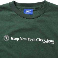 画像3: X DSNY Community Services S/S Tee 半袖 Tシャツ デイーエスエヌワイ Dark Green ダーク グリーン by Lafayette ラファイエット  (3)